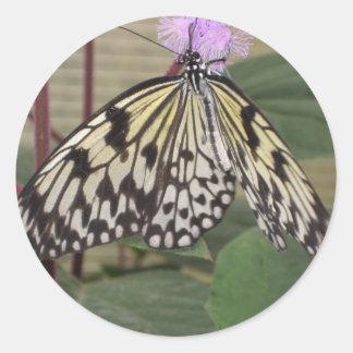 Pegatina - mariposa de papel de la cometa