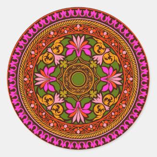Pegatina marroquí rosado