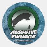 Pegatina masivo de Pwnage