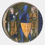Pegatina medieval/del renacimiento