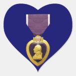 Pegatina militar de la medalla de Purple Heart