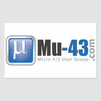 Pegatina Mu-43