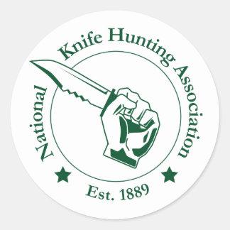 Pegatina nacional de la asociación de la caza del