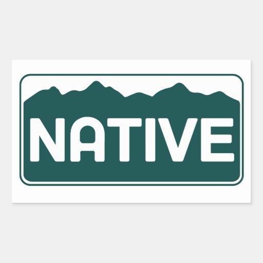 Pegatina nativo de Colorado