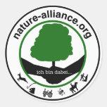 Pegatina Nature alliance