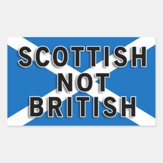 Pegatina no británico del escocés