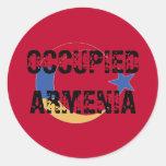 Pegatina ocupado de Armenia