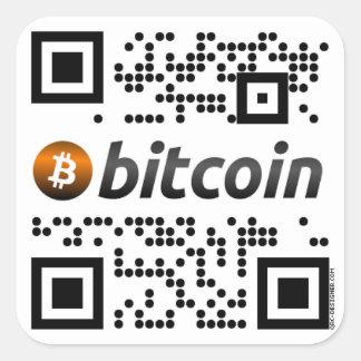 Pegatina oficial del negocio de Bitcoin