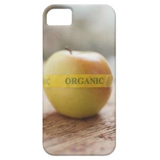 Pegatina orgánico en manzana iPhone 5 fundas