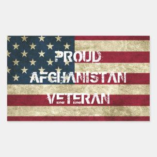 Pegatina orgulloso del veterano de Afganistán