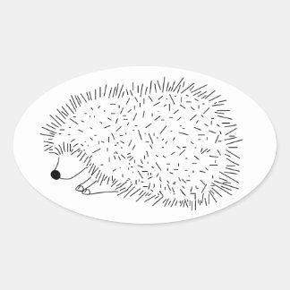 Pegatina Oval Sticker