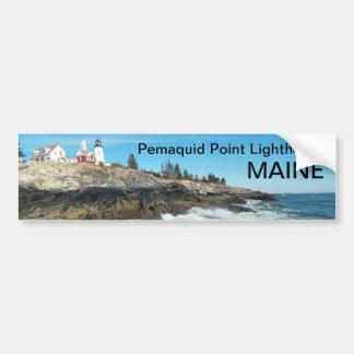 Pegatina para el parachoques 017 de Maine Pegatina Para Auto