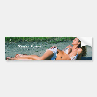 Pegatina para el parachoques 02 de Kaylee Rayne- Pegatina Para Auto