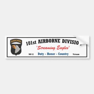 Pegatina para el parachoques - 101a división aerot pegatina para auto