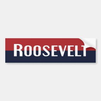 Pegatina para el parachoques 1940 de Roosevelt Pegatina De Parachoque