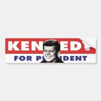 Pegatina para el parachoques 1960 de Kennedy Etiqueta De Parachoque