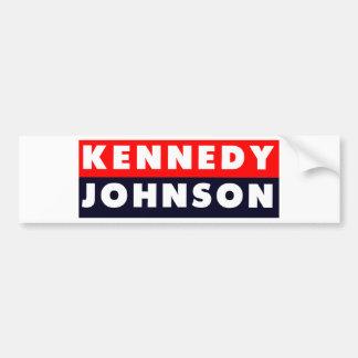 Pegatina para el parachoques 1960 de Kennedy Johns Pegatina Para Auto