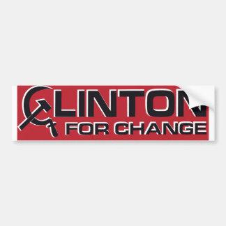 Pegatina para el parachoques 1992 de Anti-Clinton Pegatina Para Auto