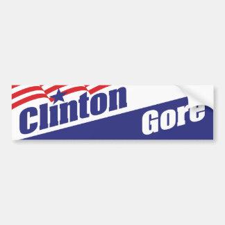 Pegatina para el parachoques 1992 de Clinton Etiqueta De Parachoque