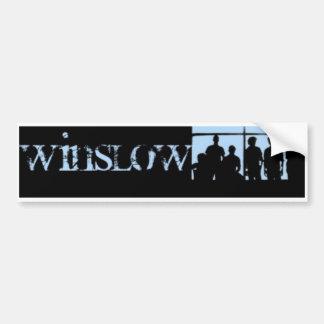 Pegatina para el parachoques 1 de Winslow Etiqueta De Parachoque