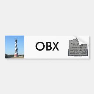Pegatina para el parachoques #1 OBX del faro de Ha Pegatina Para Auto
