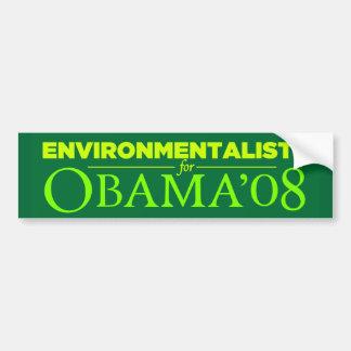 Pegatina para el parachoques 2008 de Obama Etiqueta De Parachoque