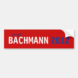 Pegatina para el parachoques 2012 de Bachmann Pegatina Para Auto