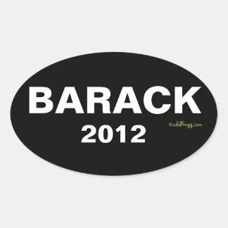Pegatina para el parachoques 2012 de BARACK