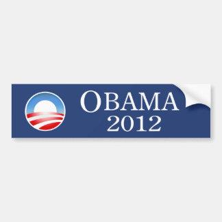 Pegatina para el parachoques 2012 de Barack Obama Pegatina Para Auto