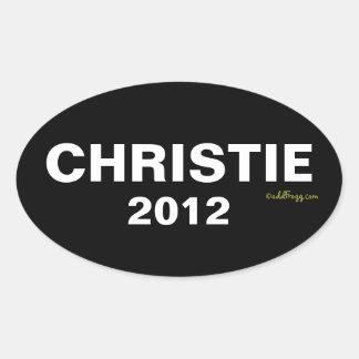 Pegatina para el parachoques 2012 de CHRISTIE