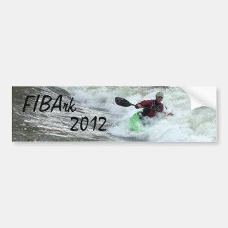 Pegatina para el parachoques 2012 de FIBArk Pegatina Para Auto