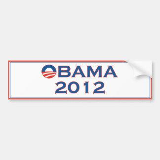 Pegatina para el parachoques 2012 de la elección d pegatina para auto