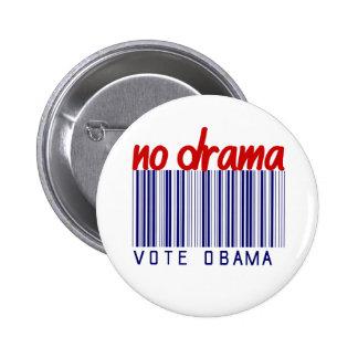 Pegatina para el parachoques 2012 de la elección d pin redondo de 2 pulgadas