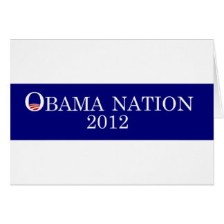 Pegatina para el parachoques 2012 de la nación de  tarjeta de felicitación