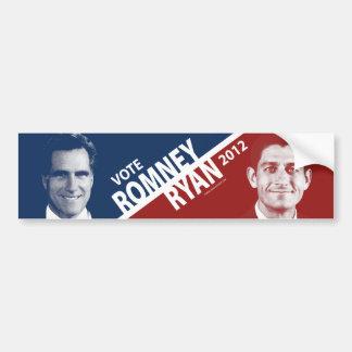Pegatina para el parachoques 2012 de Mitt Romney P Etiqueta De Parachoque