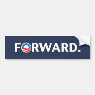 Pegatina para el parachoques 2012 de Obama Biden a Pegatina Para Auto