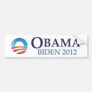 Pegatina para el parachoques 2012 de Obama Biden Pegatina Para Auto