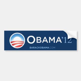 Pegatina para el parachoques 2012 de Obama Pegatina Para Auto