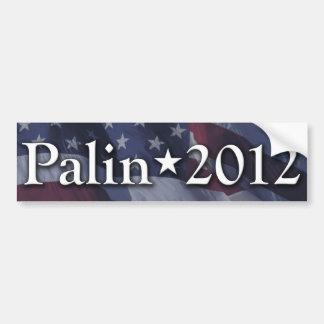 Pegatina para el parachoques 2012 de Palin Pegatina Para Auto