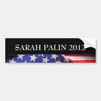 Pegatina para el parachoques 2012 de SARAH PALIN Etiqueta De Parachoque