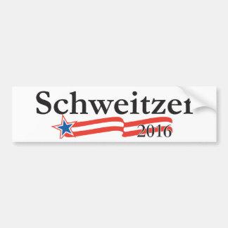 Pegatina para el parachoques 2016 de Brian Schweit Etiqueta De Parachoque