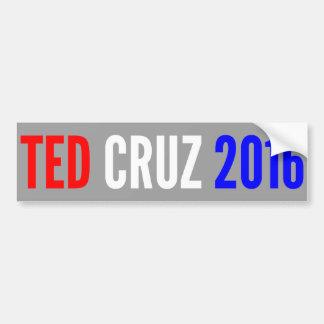 Pegatina para el parachoques 2016 de CRUZ de TED Pegatina Para Auto