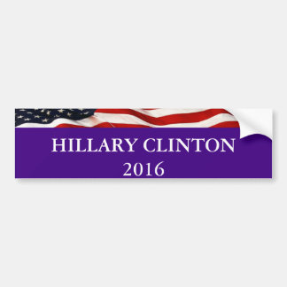 Pegatina para el parachoques 2016 de Hillary Pegatina Para Auto