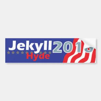 Pegatina para el parachoques 2016 de Jekyll Hyde Pegatina Para Auto