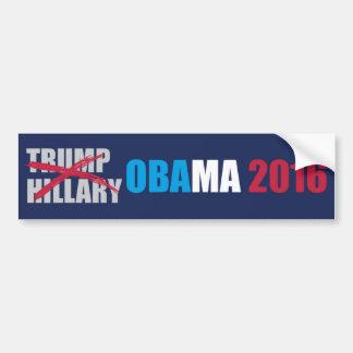 Pegatina para el parachoques 2016 de Obama Pegatina Para Auto