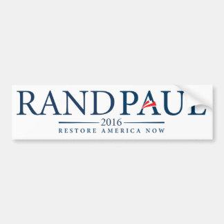 Pegatina para el parachoques 2016 de Paul del rand Pegatina Para Auto