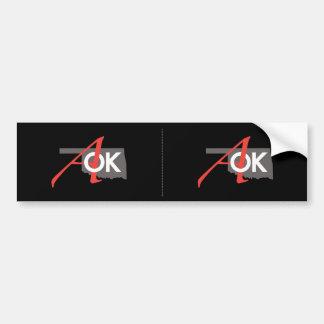 Pegatina para el parachoques 2 de AOK para 1 Pegatina Para Auto