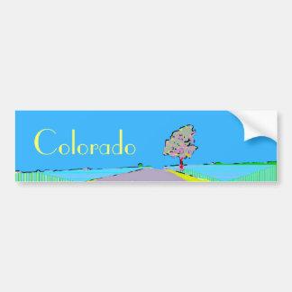 Pegatina para el parachoques 2 del arte de Colorad Etiqueta De Parachoque