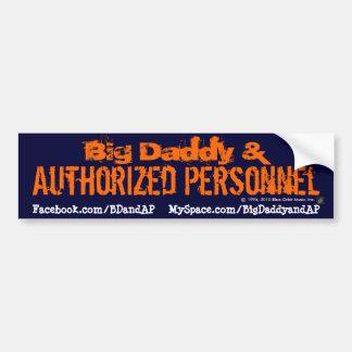 Pegatina para el parachoques 2 - Logotipo de BD&AP Pegatina Para Auto