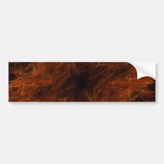 Pegatina para el parachoques abstracta del fondo d pegatina para auto